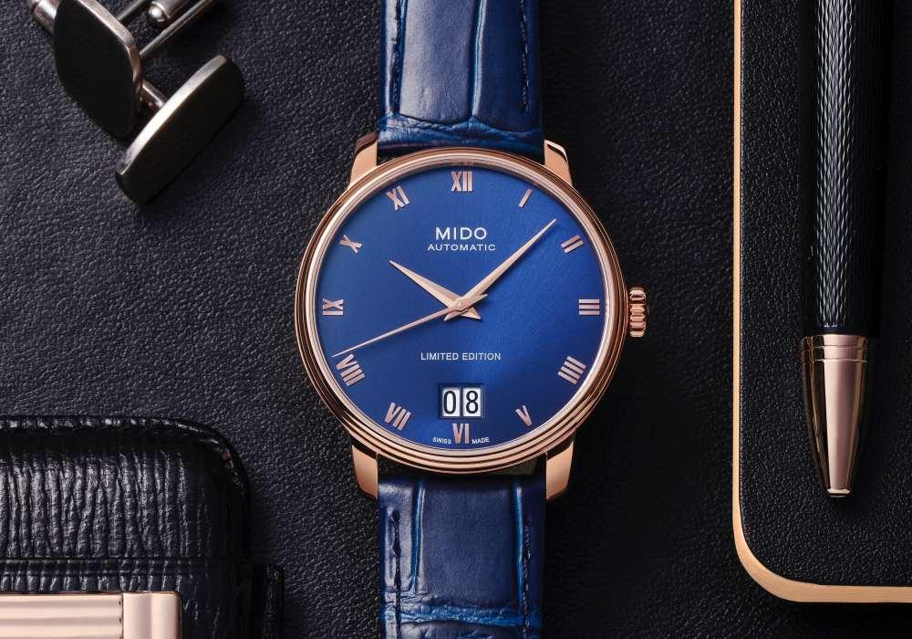 MIDO Baroncelli Big Date 007 - 展现古典绅士风范: MIDO Baroncelli Big Date 限量腕表