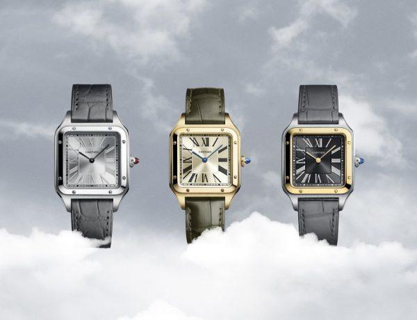 Santos Dumont watches 001 600x460 - Cartier 用腕表说故事: Santos-Dumont 限量版腕表