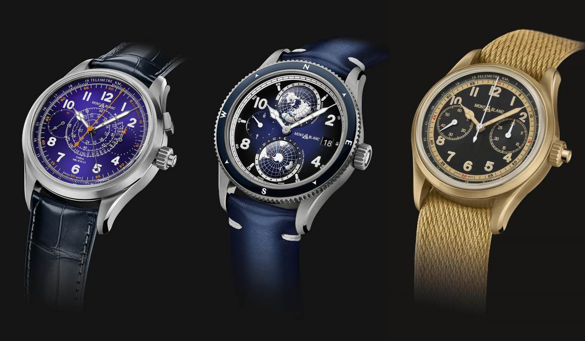montblanc 003 - Watches & Wonders 2020 亮点细看 -[运动表篇]