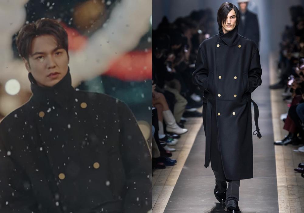 "the king lee min ho dunhill coat - 型男最需要的是""外套"" 入手李敏镐同款"