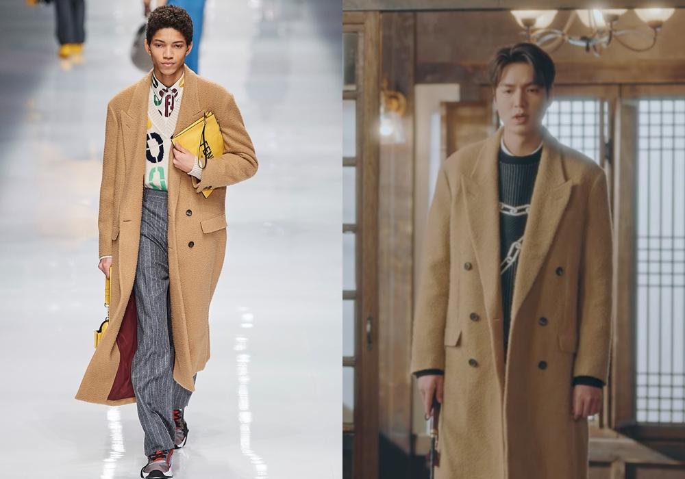"the king lee min ho fendi camel coat - 型男最需要的是""外套"" 入手李敏镐同款"