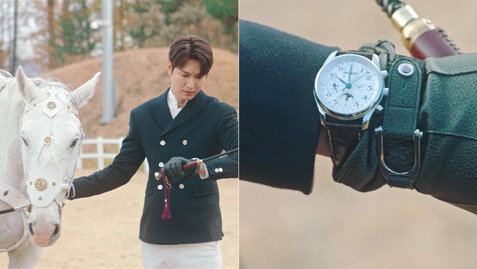 "the king lee min ho longines watch - 型男最需要的是""外套"" 入手李敏镐同款"