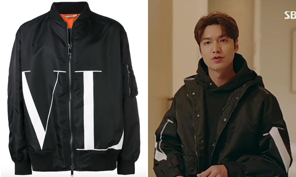 "the king lee min ho valentino bomber jacket - 型男最需要的是""外套"" 入手李敏镐同款"