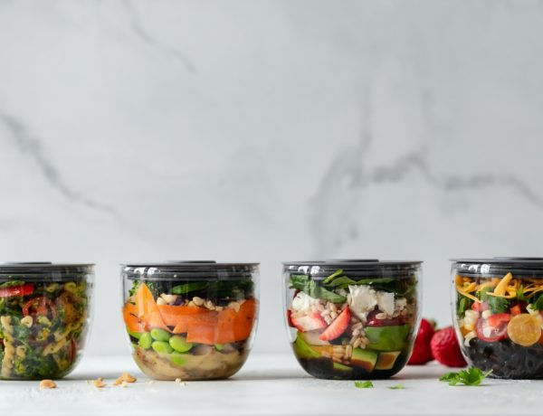 3 ingredients healthy lunch box 600x460 - 只需3种材料!9款减脂午餐食谱