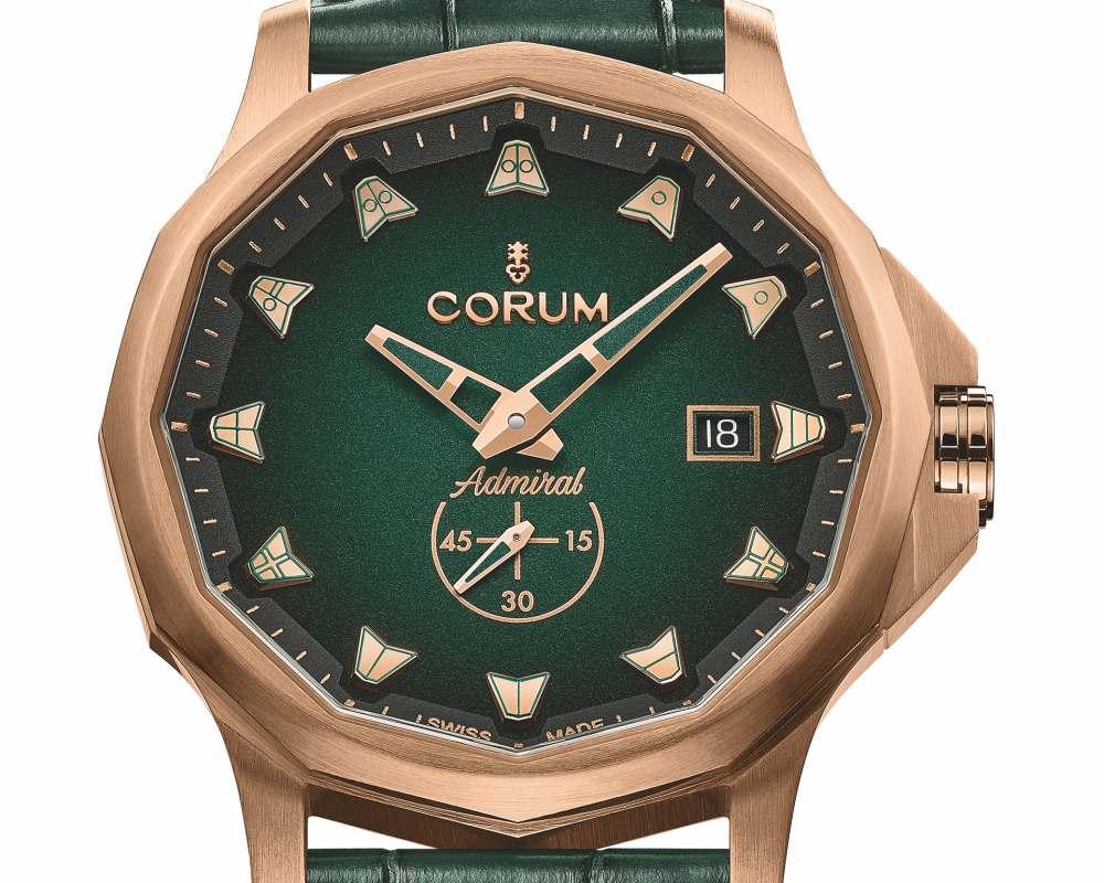 Admiral42 Bronze 004 - Corum Admiral 42 Bronze - 致敬古老航船的青铜腕表