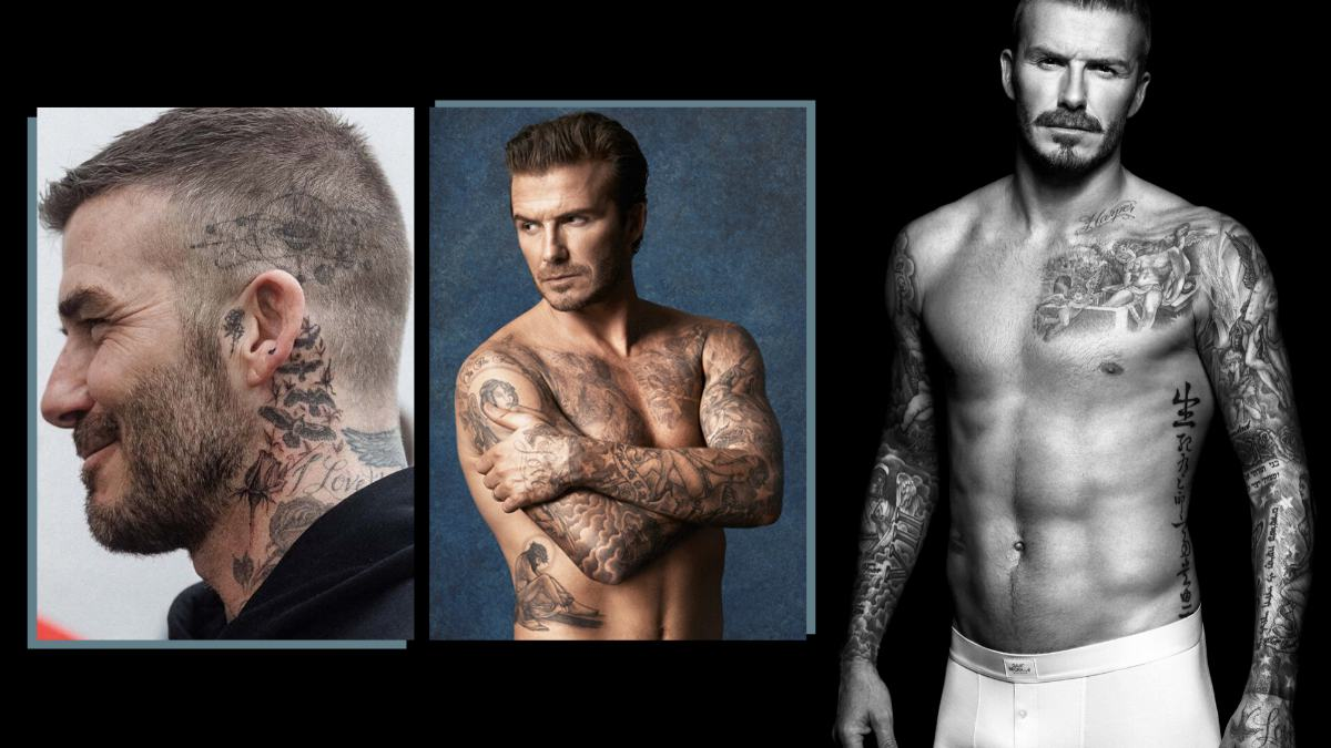 David Beckham Tattoos cover - 揭秘万人迷 David Beckham 纹身背后的故事