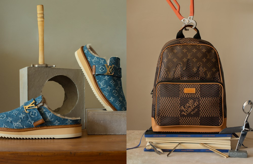 Louis Vuitton x Nigo backpack - Louis Vuitton LV2 首波来袭! 强强联名擦出亮眼火花