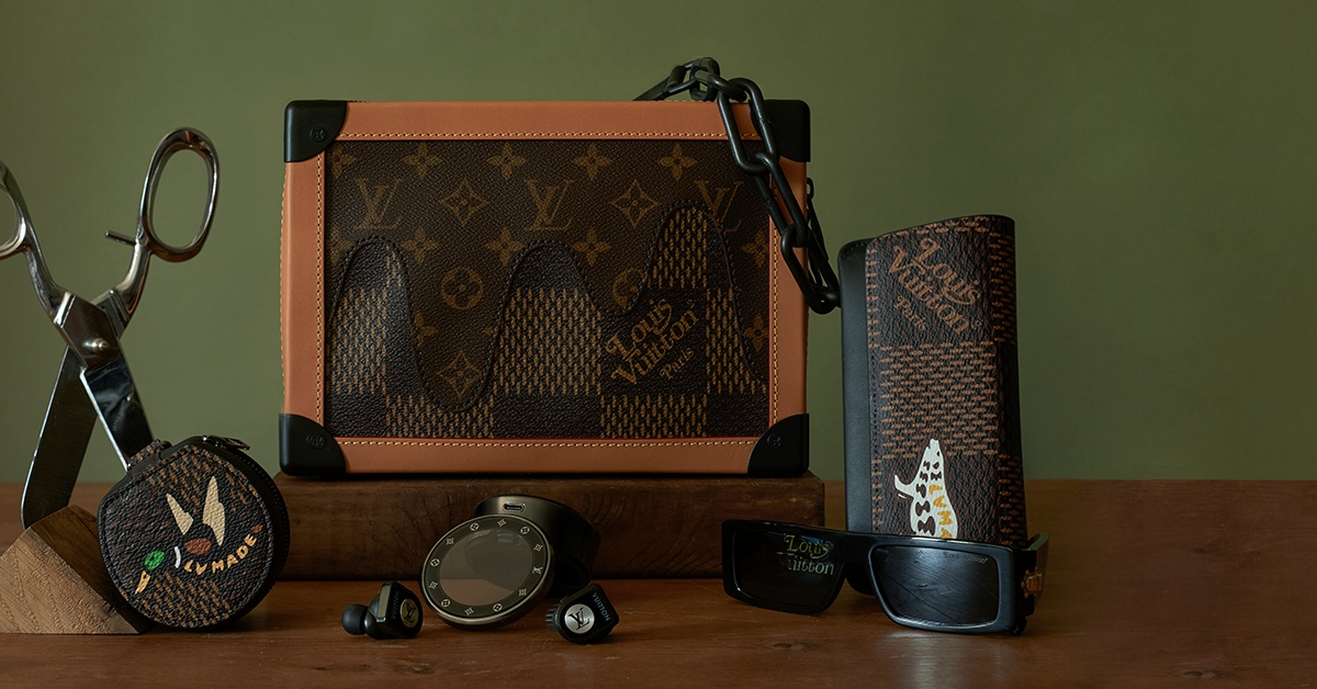 Louis Vuitton x Nigo crossbody bag - Louis Vuitton LV2 首波来袭! 强强联名擦出亮眼火花