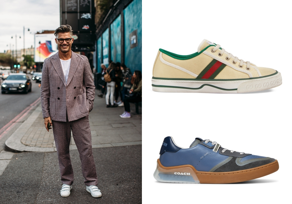 best sneakers for mens smart casual suit style - 搭配正装也合适的8款球鞋