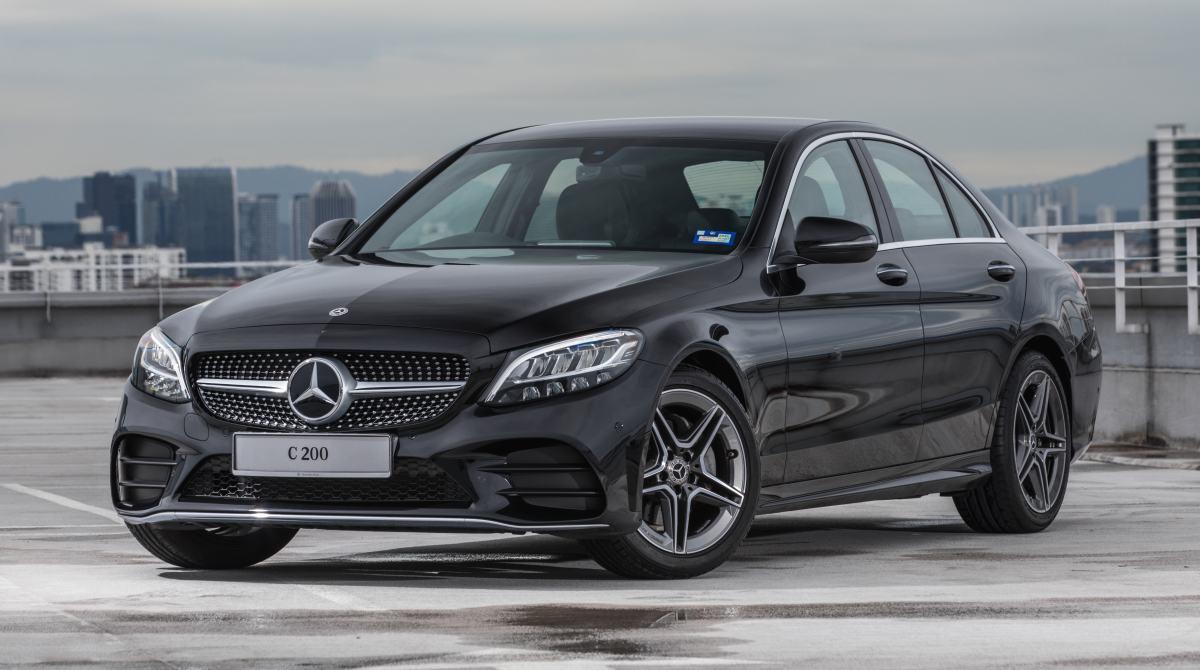 Mercedes Benz C200 AMG Line 001 - Mercedes-Benz 新人气王? C 200 AMG Line 小改款有亮点