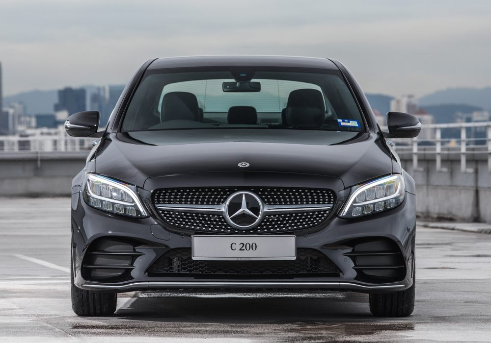 Mercedes Benz C200 AMG Line 002 - Mercedes-Benz 新人气王? C 200 AMG Line 小改款有亮点