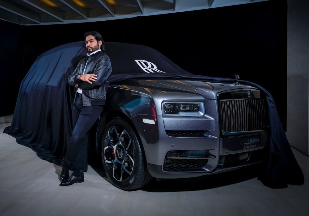 black badge cullinan 001 - Rolls-Royce Black Badge Cullinan 暗夜君王霸气登陆