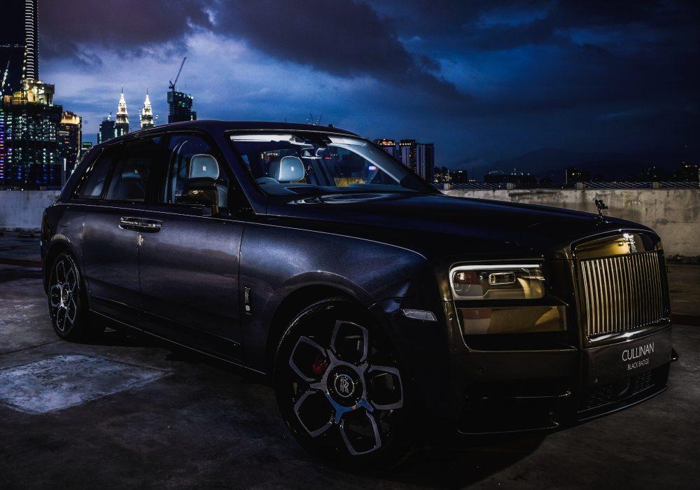 black badge cullinan 006 - Rolls-Royce Black Badge Cullinan 暗夜君王霸气登陆