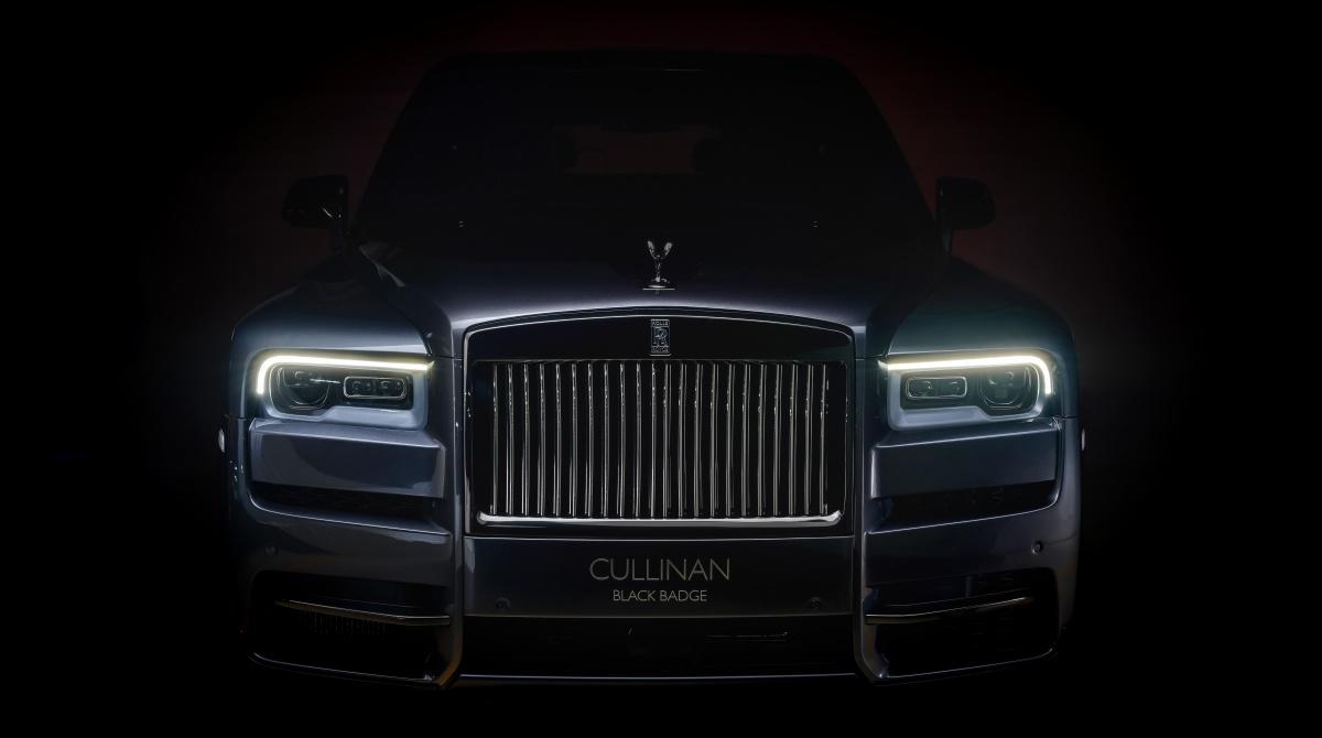 rr black badge cullinan - Rolls-Royce Black Badge Cullinan 暗夜君王霸气登陆
