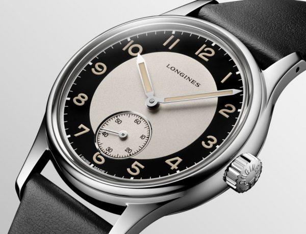 Longines Tuxedo 001 600x460 - 重现40年代: Longines Tuxedo 经典复刻腕表