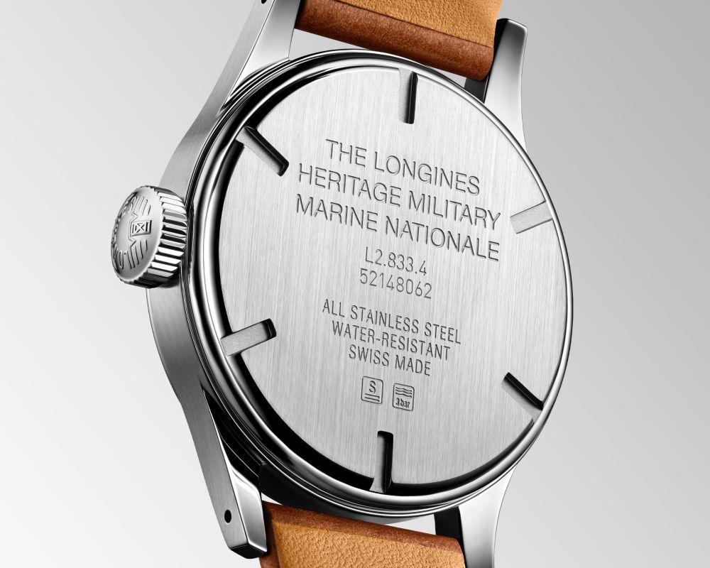 Longines Military Marin Nationale 003 - 经典海军腕表再起航: Longines Military Marine Nationale
