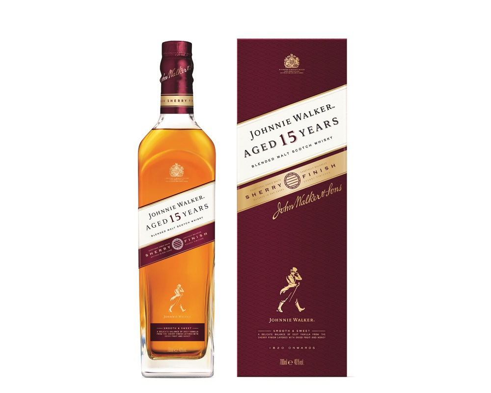 jw 15YO sherry 002 - 甜香醇顺: Johnnie Walker 首支15年熟成雪莉风味威士忌