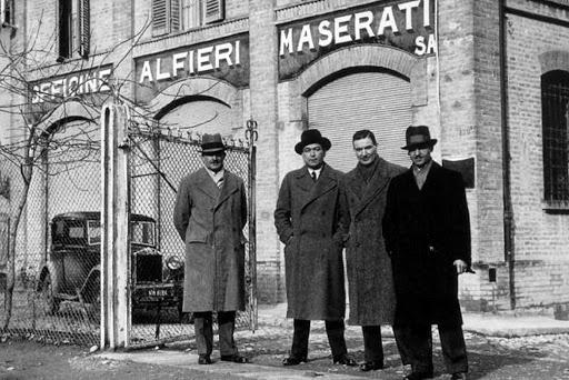 story behind cars emblem maserati brothers - K's TALK: 4个经典汽车徽标的故事