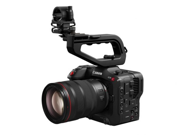 canon eos c70 600x460 - Canon 首款配置RF镜头接环的最新 EOS C70