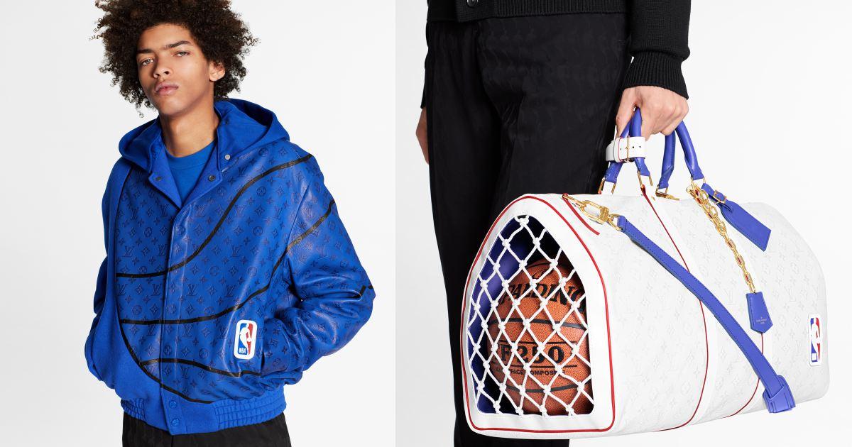 louis vuitton x nba lookbook 001 - Louis Vuitton x NBA 联名系列抢先看