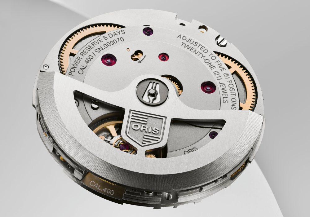 oris new inhouse movement calibre 400 002 - Oris Aquis Date Calibre 400 现代腕表新基准