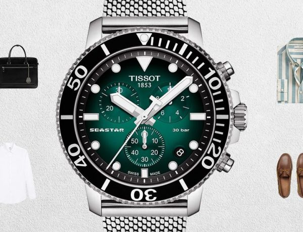 tissot seastar 1000 green cover 600x460 - Tissot Seastar 1000 潜水腕表让穿搭更有格调!