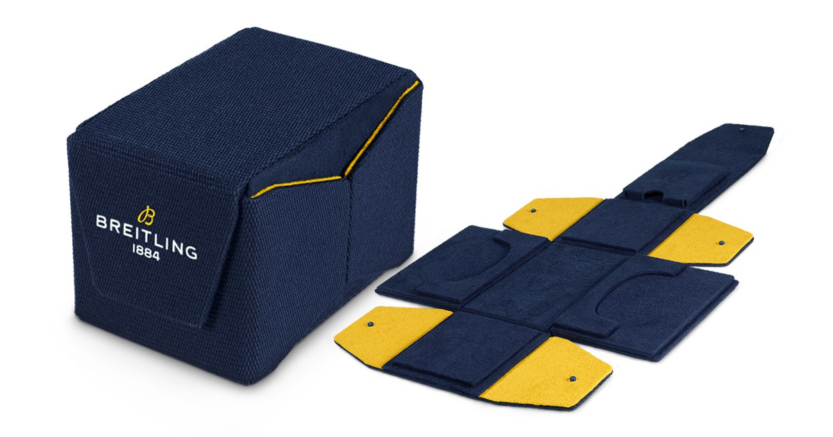 breitling launches innovative sustainable watch box 002 - Breitling 推出创新表盒,为可持续发展迈出一大步!