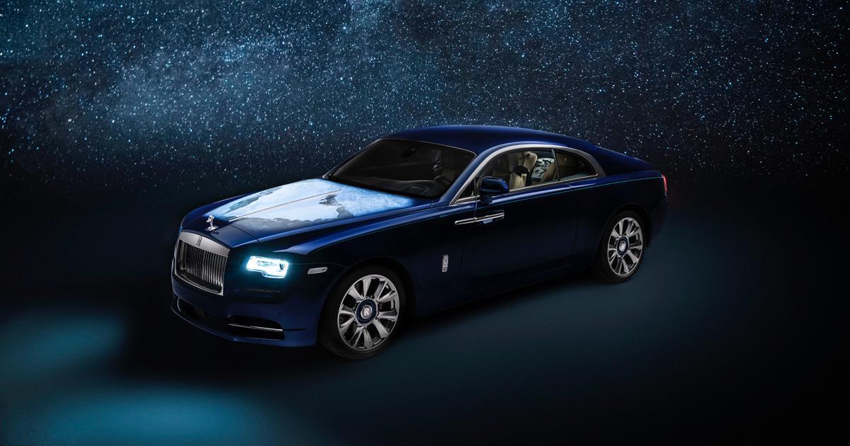 rolls royce wraith inspired by earth 001 - Rolls-Royce 高级定制新结晶!地球为设计灵感的魅影