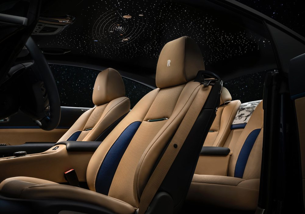 rolls royce wraith inspired by earth 007 - Rolls-Royce 高级定制新结晶!地球为设计灵感的魅影