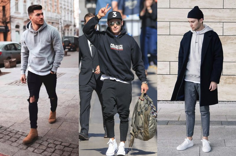 how to wear hoodie in style layering - 连帽衫怎么搭才时尚?