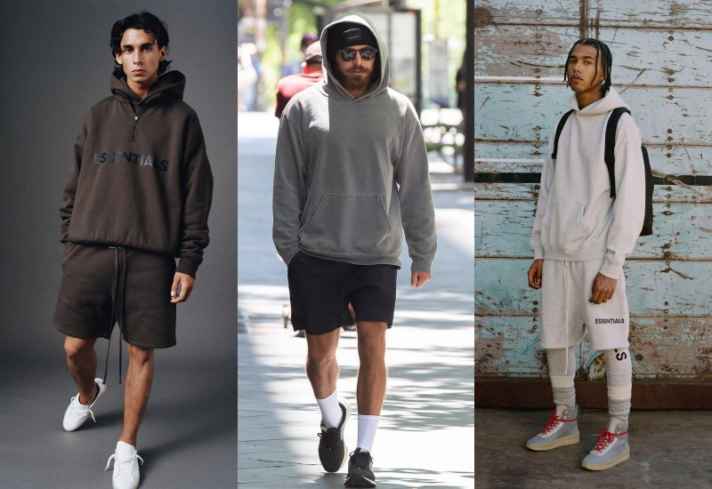 how to wear hoodie in style shorts - 连帽衫怎么搭才时尚?