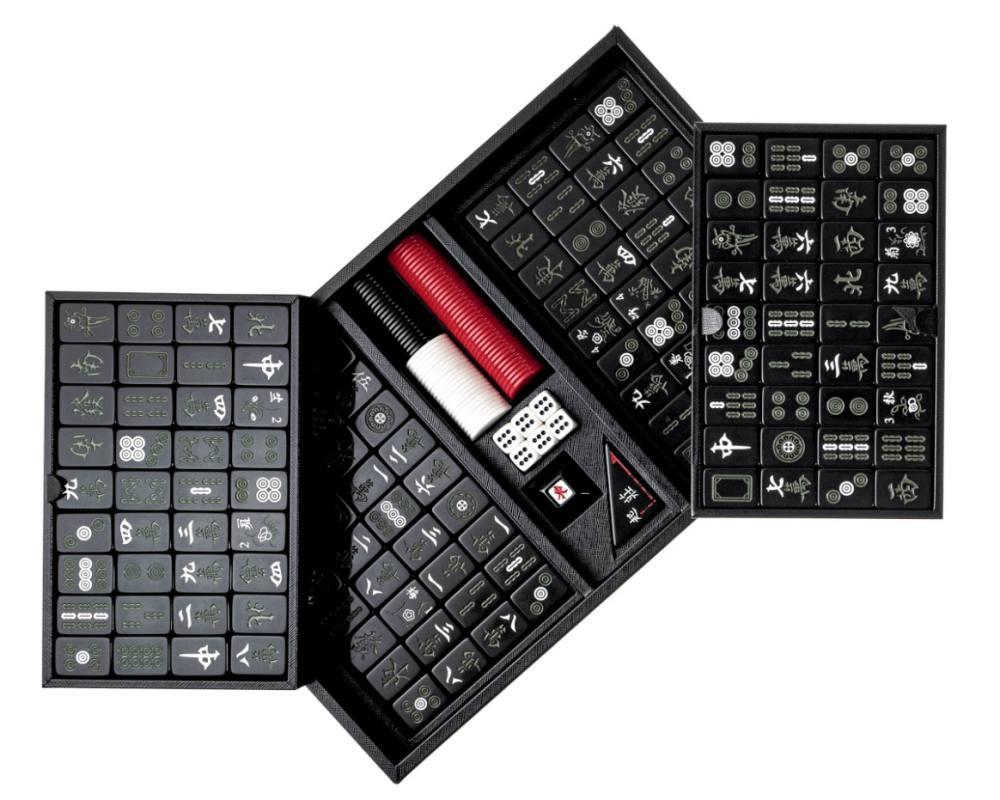 luxury mahjong sets prada 001 - 该收藏还是派上用场? 奢华质感的精品麻将