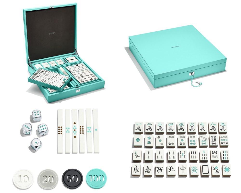 luxury mahjong sets tiffany 001 - 该收藏还是派上用场? 奢华质感的精品麻将