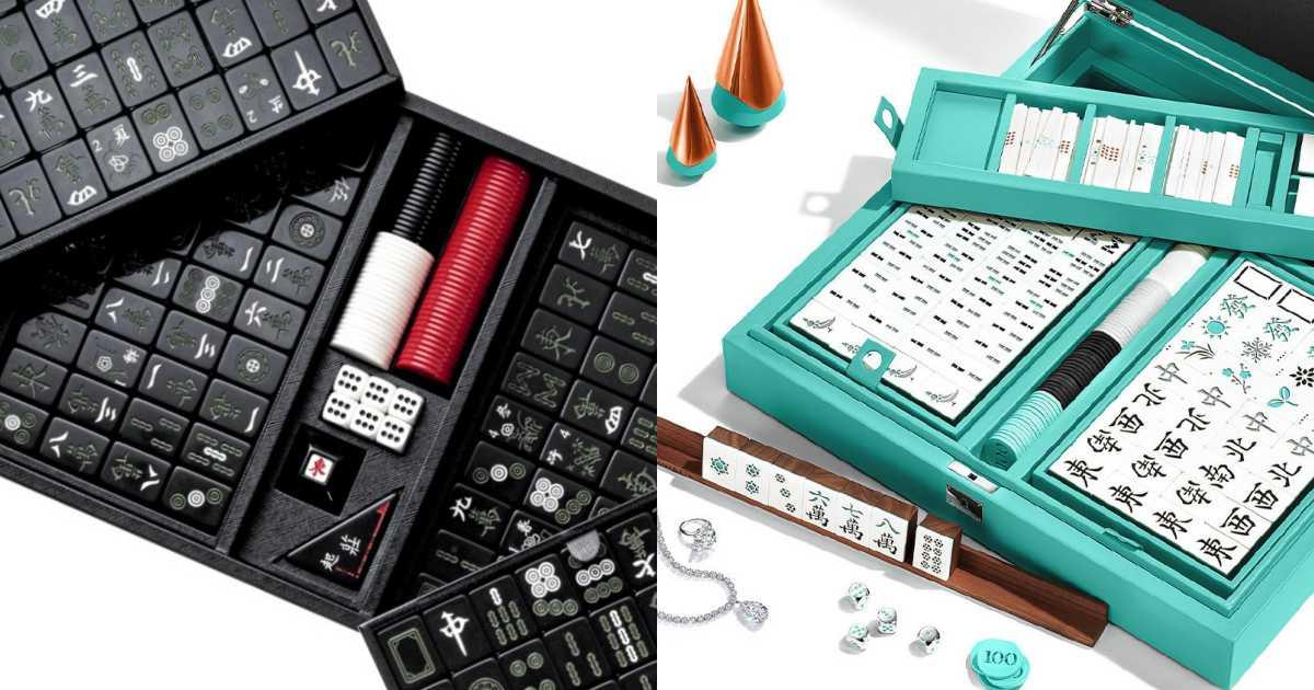 luxury mahjong sets - 该收藏还是派上用场? 奢华质感的精品麻将