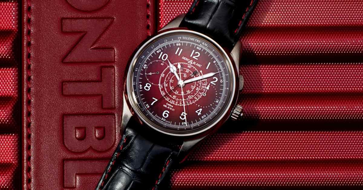montblanc 1858 split second sincere watch 001 - Sincere 独家限量版 Montblanc 1858 追针计时码表