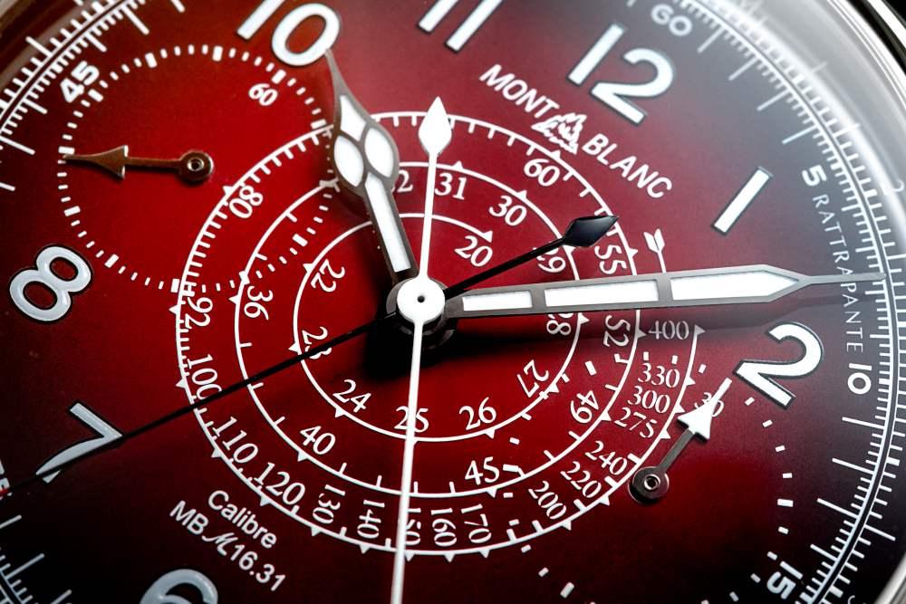 montblanc 1858 split second sincere watch 002 - Sincere 独家限量版 Montblanc 1858 追针计时码表