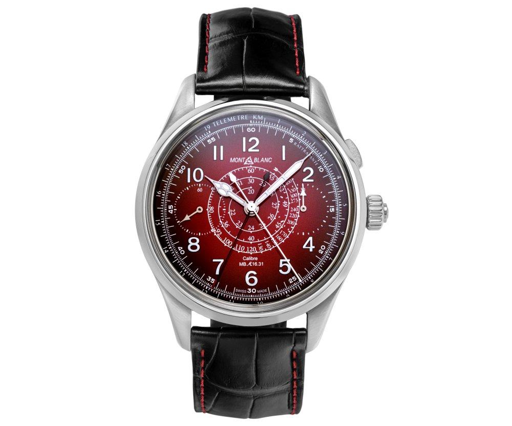 montblanc 1858 split second sincere watch 003 - Sincere 独家限量版 Montblanc 1858 追针计时码表