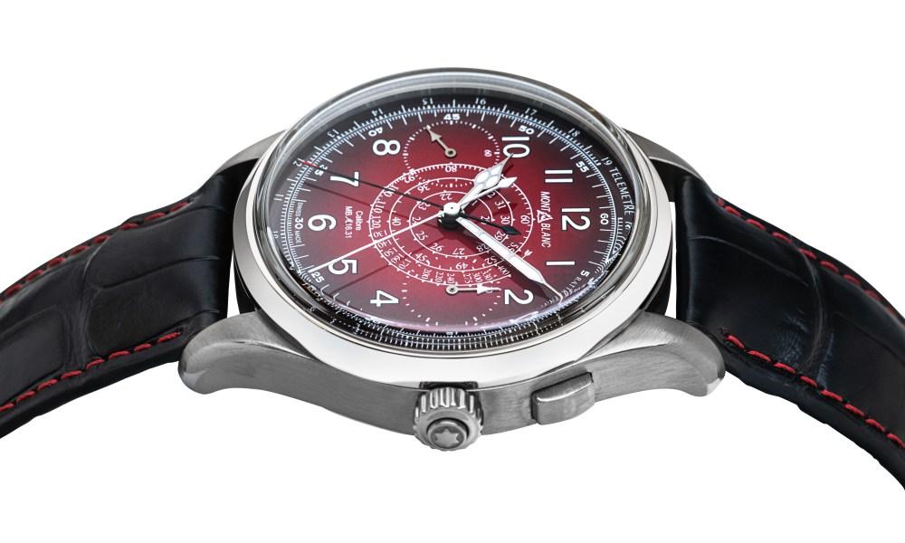 montblanc 1858 split second sincere watch 005 - Sincere 独家限量版 Montblanc 1858 追针计时码表