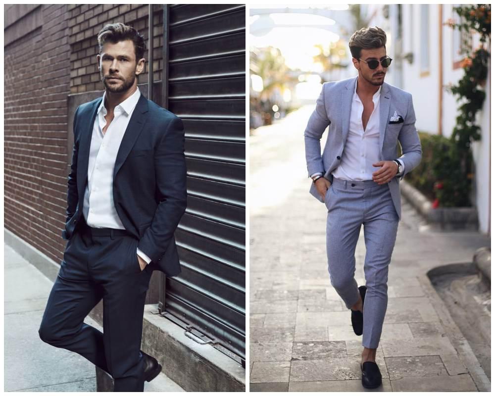 10 ways to style most versatile mens white shirt 005 - 懒人指南:5种白衬衫穿搭方式