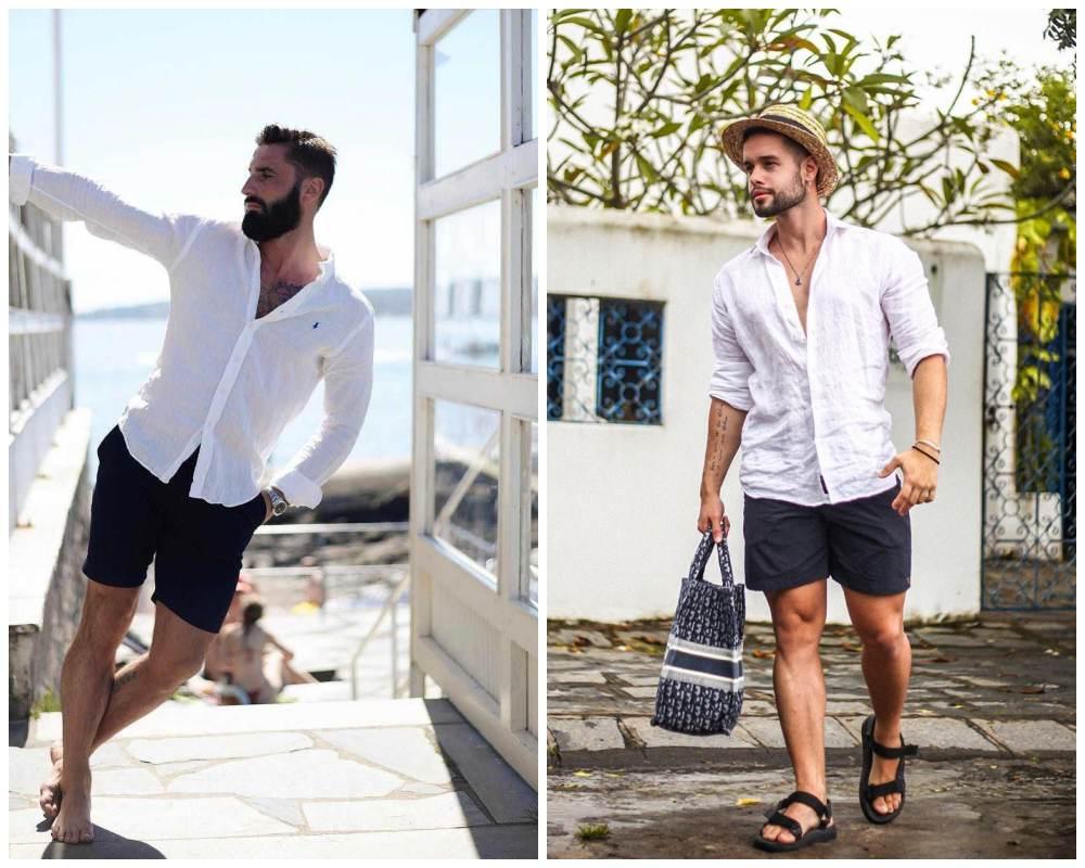 10 ways to style most versatile mens white shirt 006 - 懒人指南:5种白衬衫穿搭方式