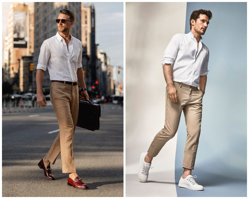 10 ways to style most versatile mens white shirt 007 - 懒人指南:5种白衬衫穿搭方式