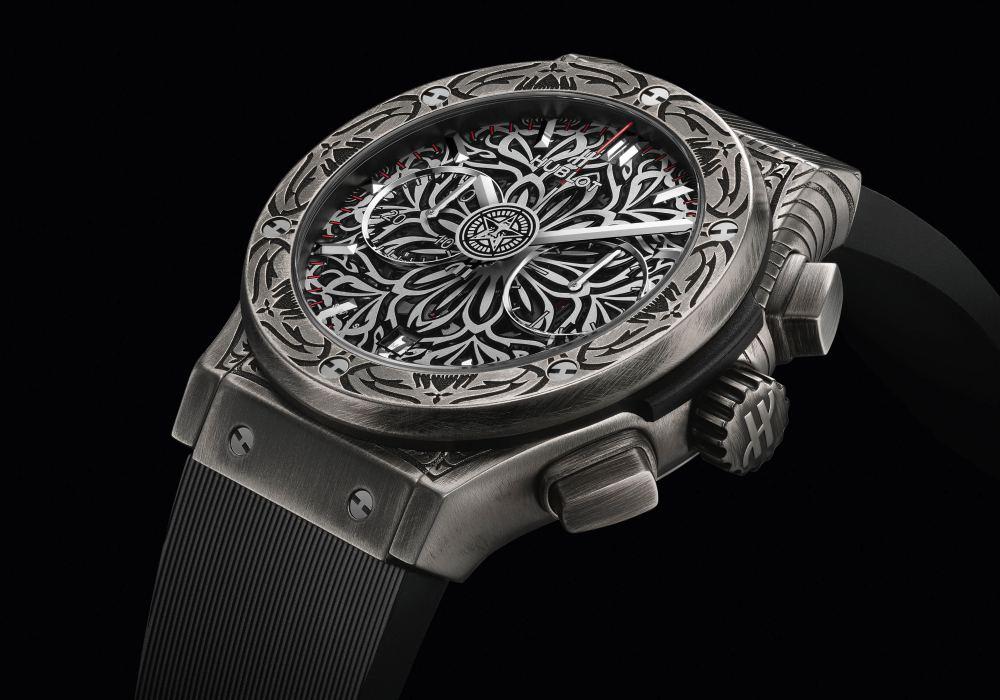 hublot classic fusion shepard fairey chronograph 005 - Hublot x Shepard Fairey 再创文化相融的时计艺术品