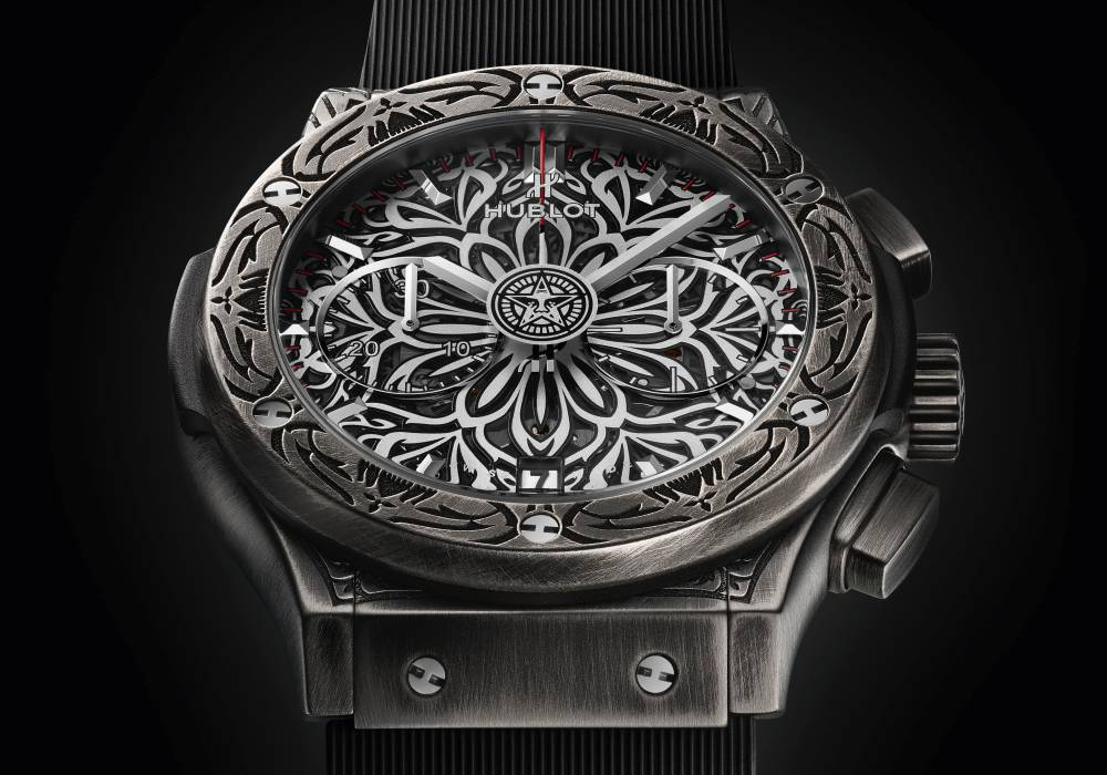 hublot classic fusion shepard fairey chronograph 006 - Hublot x Shepard Fairey 再创文化相融的时计艺术品