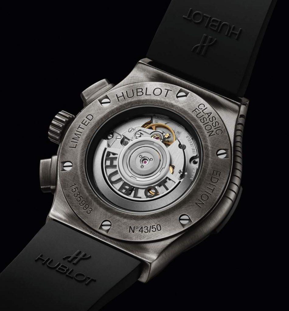 hublot classic fusion shepard fairey chronograph 007 950x1024 - Hublot x Shepard Fairey 再创文化相融的时计艺术品