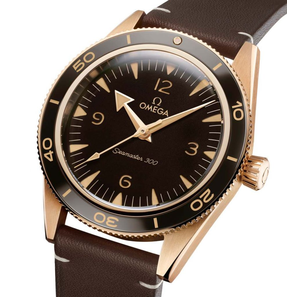 omega 2021 seamaster collection 300 bronze gold 002 989x1024 - 复古/青铜/黑魂;OMEGA Seamaster 系列新品每只都是主角!