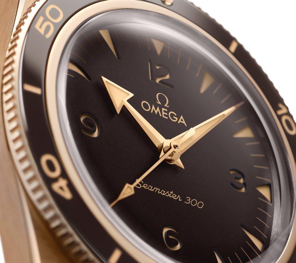 omega 2021 seamaster collection 300 bronze gold 003 - 复古/青铜/黑魂;OMEGA Seamaster 系列新品每只都是主角!