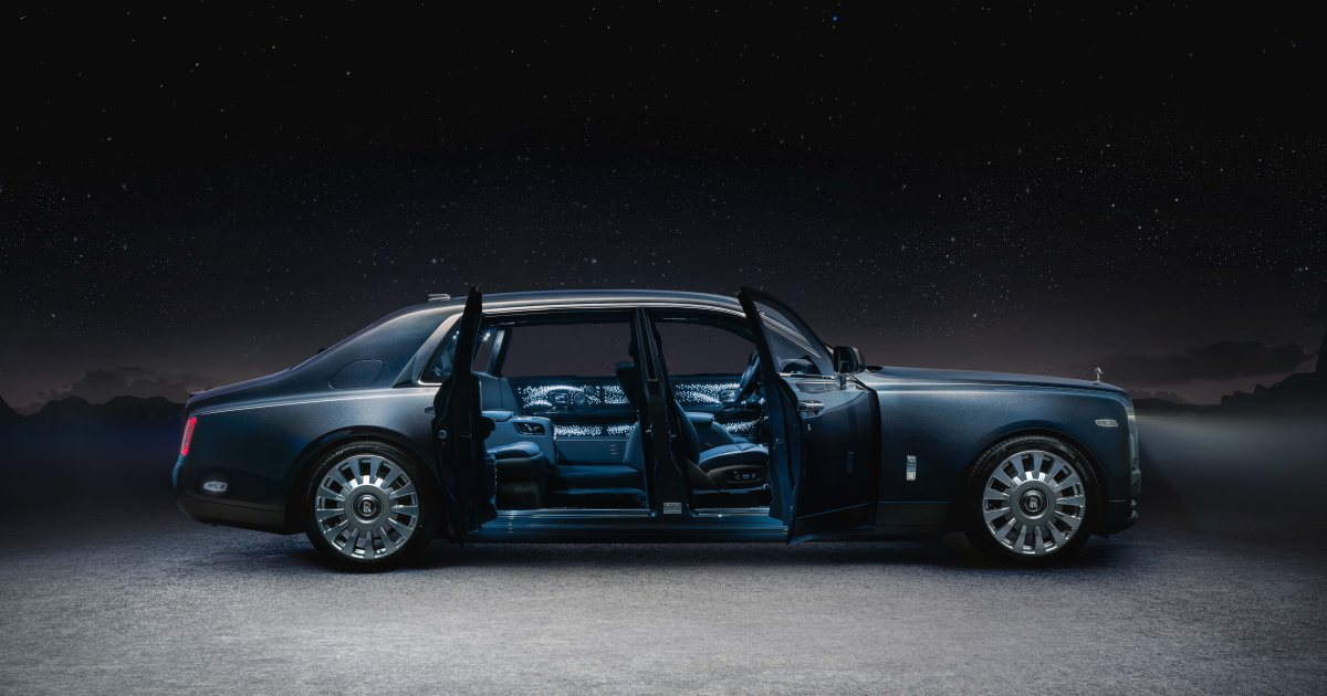rolls royce phantom tempus collection - 时光仿若静止的魔力 劳斯莱斯 Phantom Tempus Collection