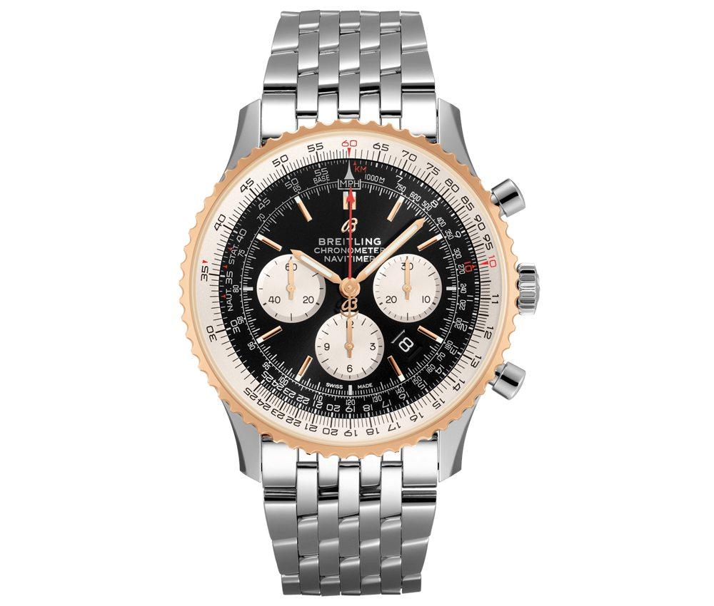 song joongki watch collectio in vincenzo breitling navitimer b01 01 - 宋仲基在《Vincenzo》戴的表全是表迷梦幻收藏