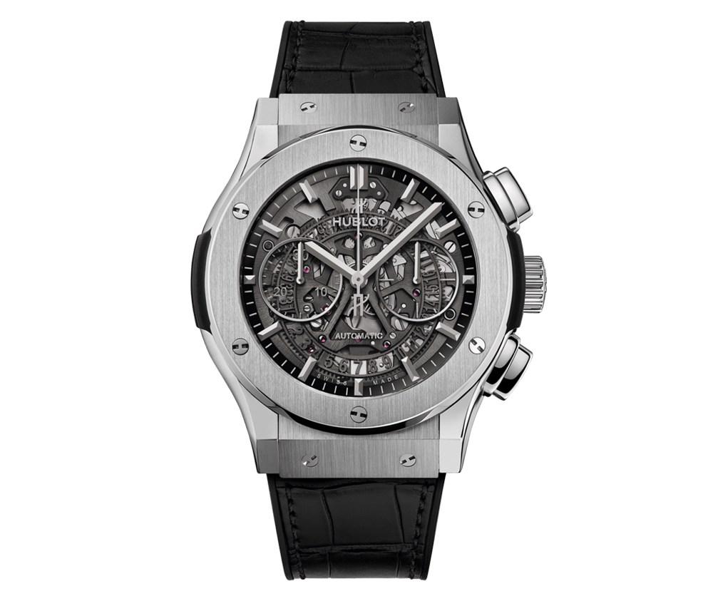 song joongki watch collectio in vincenzo hublot classic fusion aerofusion titanium - 宋仲基在《Vincenzo》戴的表全是表迷梦幻收藏