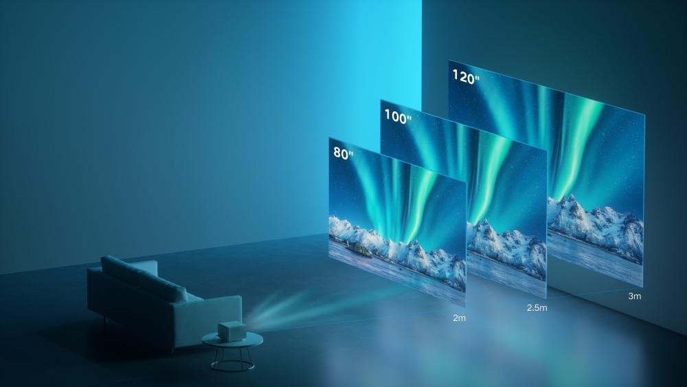 xiaomi global launch spring mi smart projector 2 pro 002 - 旗舰手机、新LOGO、小米汽车?小米春季发布会速报